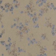 Rasch Emilia 501568  Natur virágos varázslatos kézzel festett virágok bronz aranybarna antracit fémes hatás tapéta