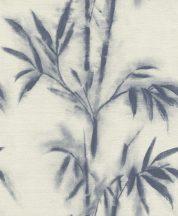 Rasch Mandalay 529104 bambusz krémfehér sötétkék tapéta