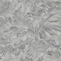 Rasch Mandalay 529241  buja trópusi levélzet ezüstszürke tapéta