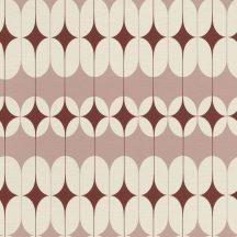 Rasch Most Fabulous 531136  grafikus retrominta krém rózsaszín piros tapéta