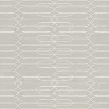 Rasch Most Fabulous 531244  retro grafikus vonalmintázat szürke fehér tapéta