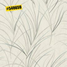 Rasch #ROCKENROLLE 540659  Natur fűmintázat világos karamell zöld árnyalatok ezüst antracit enyhe fémes csillogás tapéta