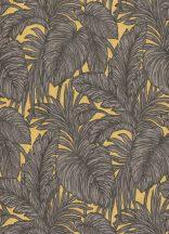 Eriemann Hacienda 5410-03 trópusi dzsungel levelek barna aranysárga tapéta
