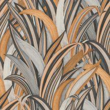 Rasch Amazing 541274 Natur Botanikus Stilizált illatos sárkányfa levélzete konyaktól a finom rozéig antracittól a világosszürkéig szines tapéta