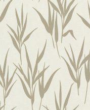 Rasch GLAM 541939 Natur Stilizált fűminta krémfehér bézs bézsarany csillogó mintázat tapéta