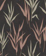 Rasch GLAM 541946 Natur Stilizált fűminta krémfehér antracit bézs bézsarany ó-rózsaszín/mályva csillogó mintázat tapéta