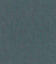 Rasch Poetry II 545401 Natur természetes hatású textilminta petrolszín árnyalatok csipetnyi korallvörös tapéta