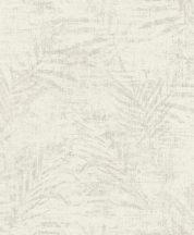 Rasch Poetry II 546606 Natur botanikus bambuszlevelek krémfehér bézs világos szürke ezüst tapéta