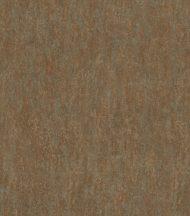 Egyszínű irizáló szivárványos hatás szemcsés struktúra aranyozott rozsdabarna tapéta
