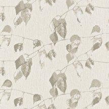 Rasch Amelie 573817 Natur finom művészi levélzet krém bézs fémes hatás tapéta