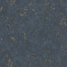 Ugepa Reflets E85501 (575501) Natur márványmintázat kék árnyalatok arany tapéta