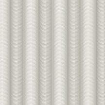 Marburg Colani Legend 59811 design csíkos vízszintesen hullámos 3D szürke ezüst fémes hatás tapéta
