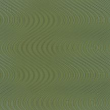 Marburg Colani Legend 59823  design tipikus Colani görbe 3D zöld zöldarany ezüst fémes hatás tapéta