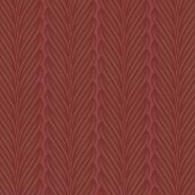 Marburg Colani Legend 59829  design csíkos stilizált díszítőminta vörös vörösesbarna fémes hatás tapéta