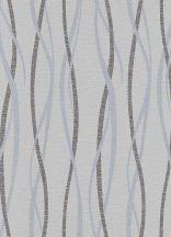 Erismann Sevilla 5987-10 Grafikus hullámminta világoskék szürke ezüst csillámló hatás tapéta