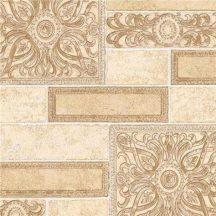 Erismann Arcano 6310-02 Vintage díszes csempeminta krém bézs barna tapéta