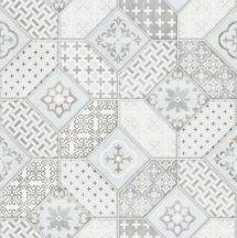 Erismann Imitations 6315-10  natur Bohemia csempemintázat világos szürke fehér bézs tapéta