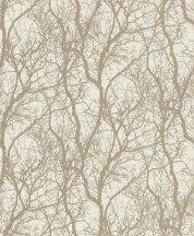 Rasch #tapetenwechsel 633245  natur faágak krémfehér arany bronz tapéta