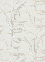 Erismann Quiet Nature/Emma 6354-02 natur réti növények füvek krémfehér bézs barna szürke tapéta