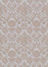 Erismann Palais Royal 6378-31 Klasszkius barokk díszítőminta szürke/kékes szürke barna/aranybarna tapéta