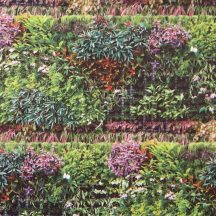 Caselio Metaphore 65607077 natur virágoskert zöld szines tapéta
