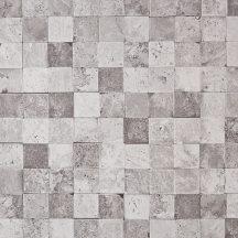 Caselio Metaphore 65649046 Natur mozaikcsempe szürkésfehér szürke árnyalatok tapéta