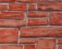 As-Creation Dekora Natur 6, 6621-18 kőmintás barna vörös antracit  tapéta