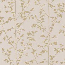 Caselio Shine 68571121  VÉGÉTAL organikus  bézs/rózsaszín arany tapéta