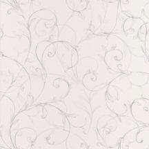 Caselio Iris Onirique 68869222  indás krémfehér ezüst tapéta