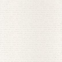 Caselio Pretty Lili 69121000 kézírás krémfehér ezüst  tapéta