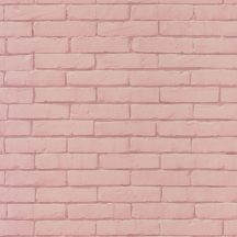 Caselio Pretty Lili 69134012 téglafal  rózsaszín  tapéta