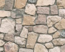 As-Creation Dekora Natur 6, 6924-12 kőmintás bézs bsrna  szürke tapéta
