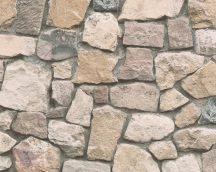 As-Creation Dekora Natur 6, 6924-12 kőmintás bézs barna  szürke tapéta