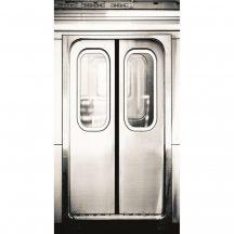 Caselio Tonic 69549000 metrókocsi ajtó ezüst szürke fekete  falpanel