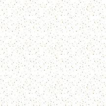 ICH Noa 7005-2 STARS GOLD Gyerekszobai kis csillagok fehér arany tapéta
