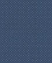 Rasch Sightseeing 701753 Grafikus Retro összefonódó kis körök sötétkék fényes kék tapéta