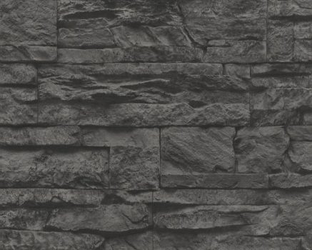 As-Creation Murano 7071-23 kőmintázatú antracit tapéta