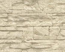 As-Creation Elements/Murano 7071-30 Natur kőmintázat krém bézs világosbarna tapéta