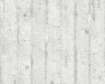 As-Creation Murano 7137-11 beton mintázatú szürke fehér  tapéta