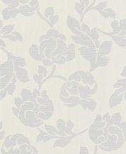 Rasch Allegretto 791068 Virágos fehér szürke tapéta