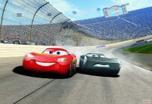 Komar 8-403 Cars3 Curve Verdák Disney poszter