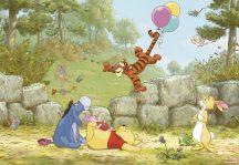 komar 8-460 Winnie Pooh Ballooning Micimackó Disney poszter