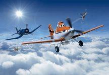 Komar Planes abouv the Clouds 8-465 Disney poszter