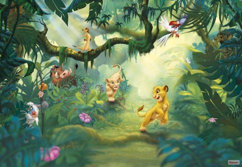 Komar 8-475 Lion King Jungle Oroszlánkirály Disney poszter