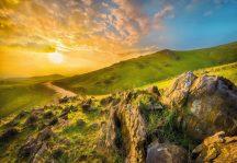 Komar Mountain Morning 8-525 poszter