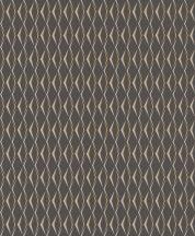 Rasch Cato 800715 nemes 3D rombuszminta antracit világos szürke arany lakk csillogás tapéta
