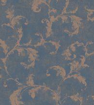 Casadeco Montsegur 80796475  ARABESQUE Klasszikus arab stílusú díszítőminta horgonykék bronz tapéta