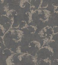 Casadeco Montsegur 80799672  ARABESQUE Klasszikus arab stílusú díszítőminta antracit bézsarany tapéta