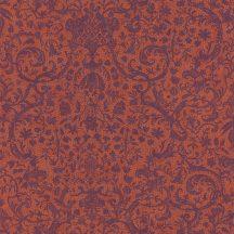 Casadeco Signature 81973102 ORSAY klasszikus damaszt texturált narancs/vörös indigókék tapéta