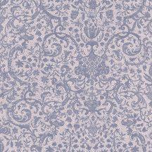 Casadeco Signature 81974122 ORSAY klasszikus damaszt texturált halvány rózsaszín palakék/szürke tapéta